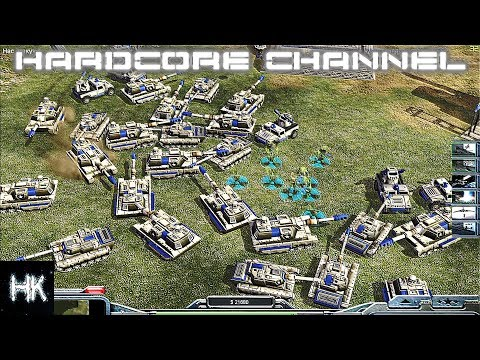 Command & Conquer Generals: Zero Hour - FFA - Армада США