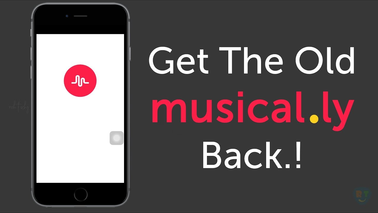 HOW TO GET THE OLD MUSICALLY BACK | DOWNGRADE MUSICAL LY APP | TUTORIAL |