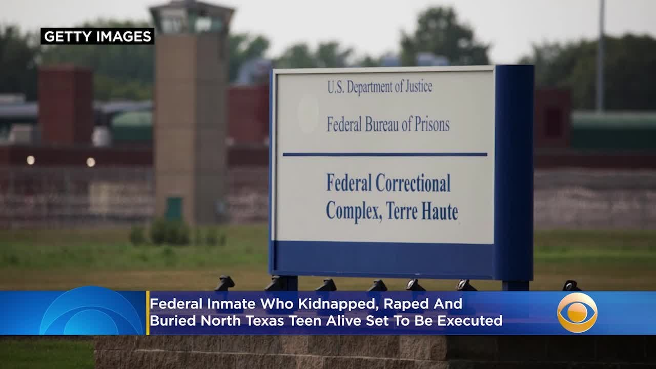 Execution Today For Federal Inmate Orlando Hall Who Kidnapped, Raped And Buried North Texas Teen Lis