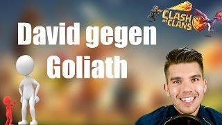 CLASH OF CLANS: David gegen Goliath ✭ Let's Play Clash of Clans [Deutsch/German HD]