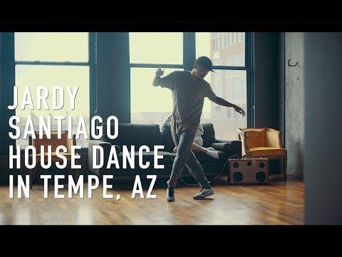Jardy Santiago House Dance in Tempe, Arizona