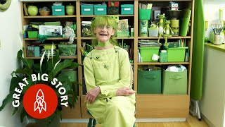 Green With Happiness: Meet the Green Lady of Brooklyn
