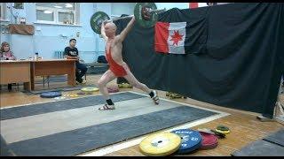 Сергей Карякин рывок 50 кг в ножницы