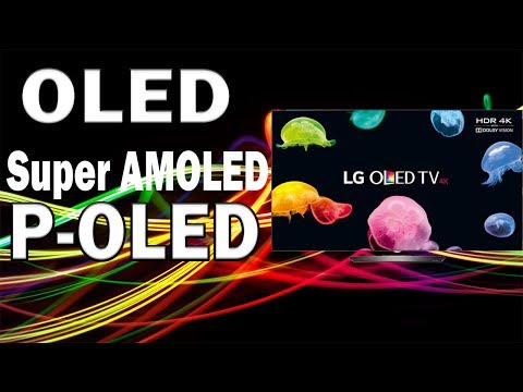 OLED vs AMOLED vs POLED Displays   Which One is Better?