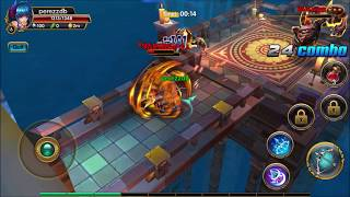 MU Chibi  -  The Last Knight android game first look gameplay español