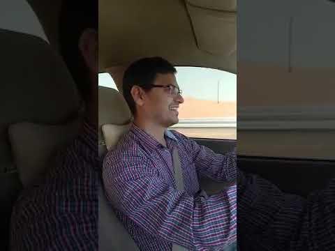 Jeewan's first long drive Ajman to Fujairah on 29th Dec-17