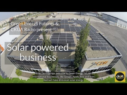 199. Going solar good for business - Calgary manufacturer - CKUA