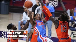 Ole Miss Takes Down Auburn On Last Second Shot In Overtime [HIGHLIGHTS] | ESPN College Basketball