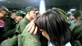 Проводы любимого на поезд в армию!!!