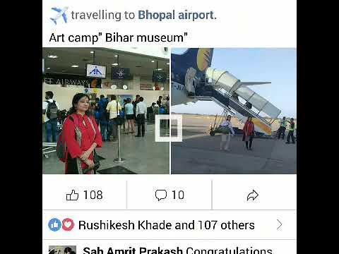 Dr kusumlata Sharma artist, Bhopal