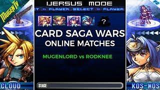 Card Saga Wars Online: MugenLord vs Rodknee