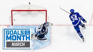 Filthiest Goals of March | 2021 NHL Season