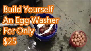 Build Egg Washer Less