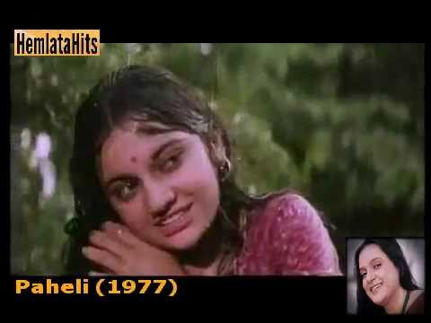 Hemlata - Tan Bhije Mann Bhije - Paheli (1977)
