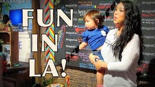 TOO MUCH EXCITEMENT IN LA June 01 2014 itsJudysLife Daily Vlog