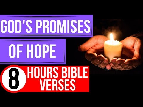 Hope Bible Verses (God's Promises)(Encouraging Bible Verses For Sleep)(worry & Anxiety)