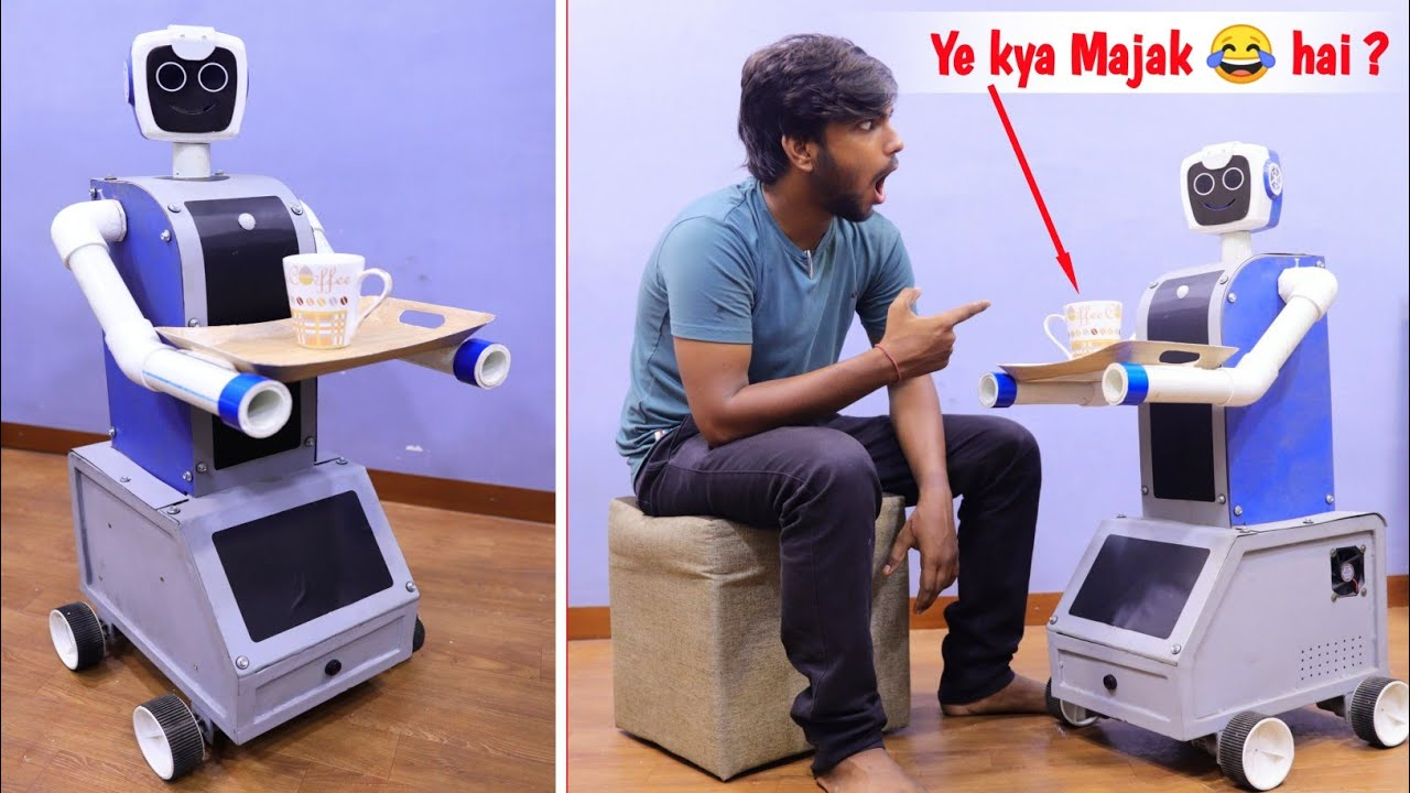 How to Make a Smart Robot at home || Part -2