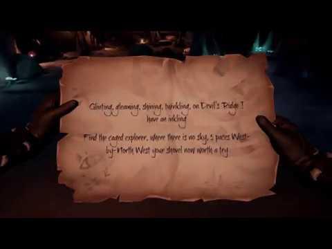 sea of thieves kraken fall riddle