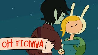 Marshall Lee sings Oh Fionna [fan-animation]