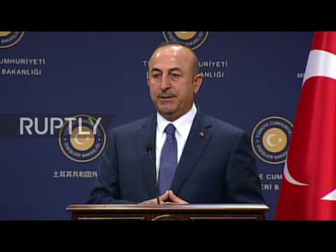 Turkey: Visit to Incirlik Base 'not possible in today's conditions' - FM Cavusoglu