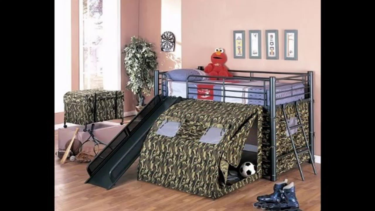 Awesome army bedroom decorating ideas - YouTube