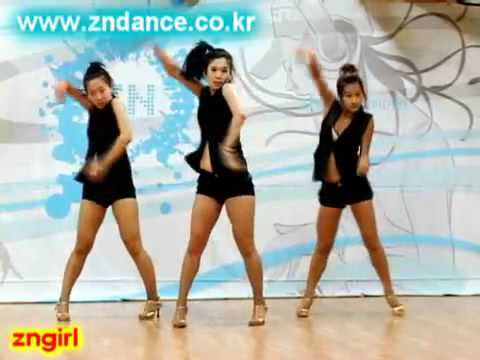 Brown Eyed Girls - Abracadabra dance steps ver3
