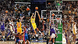 Kobe Bryant's Best Clutch Shots On Every Team In The NBA!