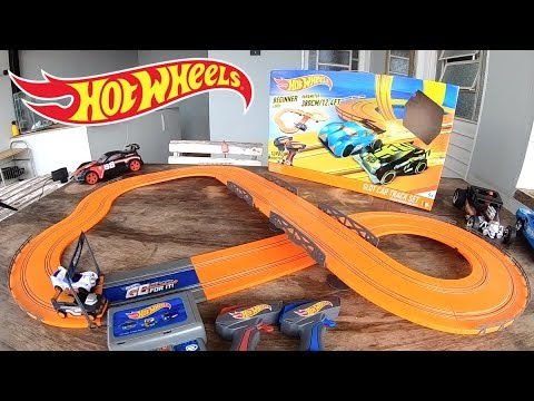 Hot Wheels Pista Autorama Slot Car Track Set 2019 – Carrinhos de Brinquedos