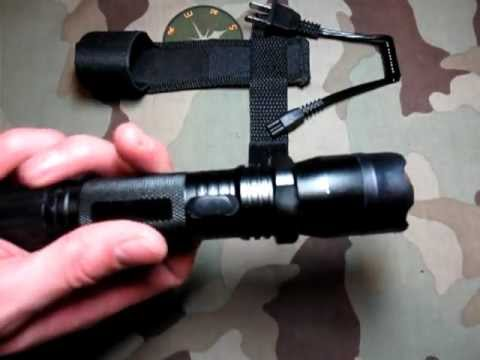 Stun Gun Flashlight Quality Made Of Metal Youtube