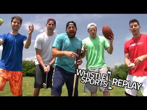 Dude Perfect Dizzy Sports Battle | Pop A Shot Dunk FAIL