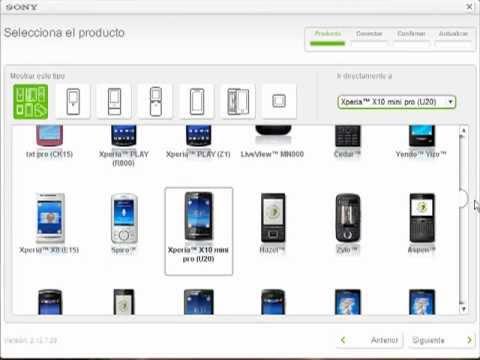 Revivir/Reparar Cualquier Sony Ericsson...Xperia x10 mini pro (Bien Explicado)