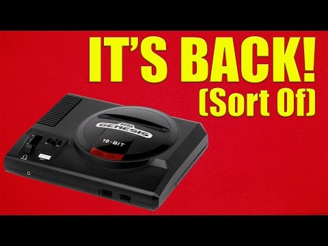 The Sega Genesis (Mega Drive) Is Officially Back In Production, But Is It Real Hardware?