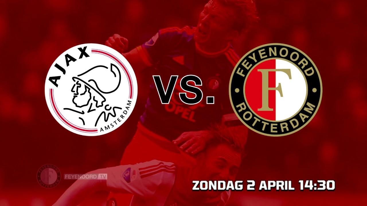Historie Ajax Vs Feyenoord Youtube