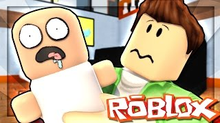 RAISING A BABY IN ROBLOX!