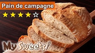 Pain De Campagne|カンパーニュの作り方
