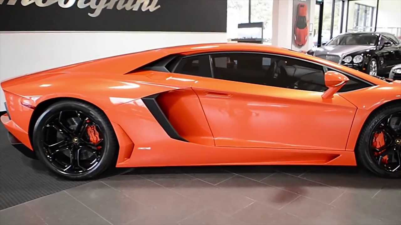 2012 Lamborghini Aventador LP 700-4 Arancio Argos L0607 ...