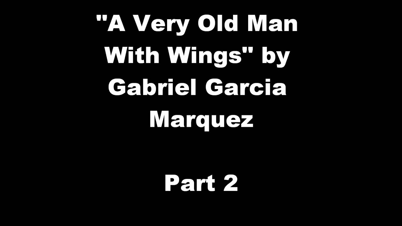gabriel garcia marquezs use of symbolism in the short story a very old man with enormous wings Throughout the rat story they use the cat as a symbol of the government, and in enormous wings story uses irony when the family thinks of the old man as an annoyance when he is causing all the good stuff in their life.