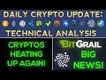 Be Ready, Cryptos Are Heating Up Again!!! + IOTA News, BitGrail Drama