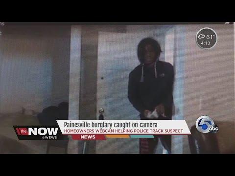 Painesville criminal caught on webcam- Tara Molina