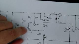 Fonte regulada simétrica com limitador de corrente para amplificadores high end