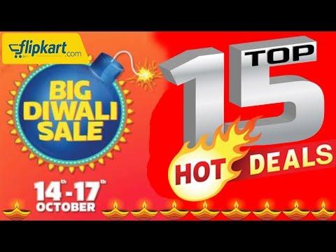 Flipkart Big Diwali Sale 2017 | Top 15 HOT Deals You Can Buy | Data Dock