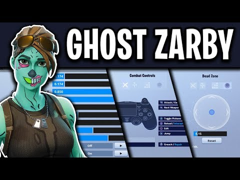 Ghost Zarby's Fortnite Settings, Controller Binds and Setup (UPDATED)