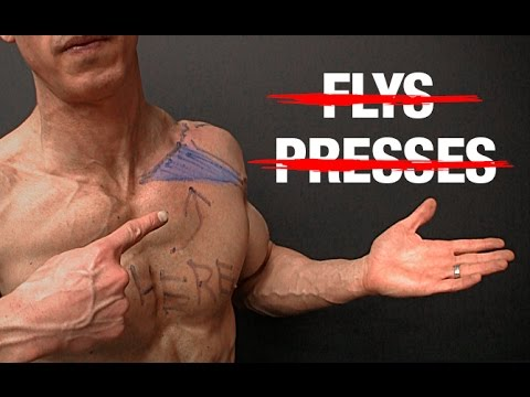How to Build Your Upper Chest (NO FLYS | NO PRESSES!)