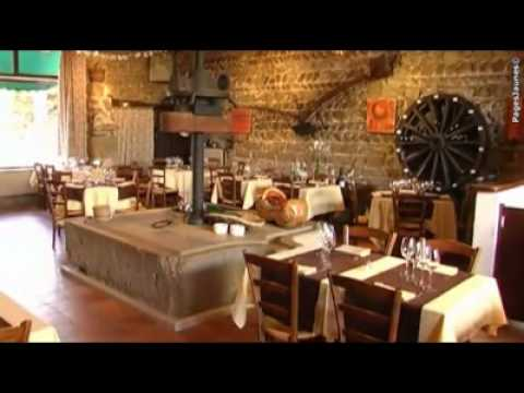Restaurant le pressoir ambronay youtube for Le pressoir restaurant
