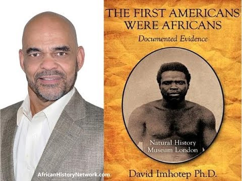 "Dr. David Imhotep Interview - ""The First Americans Were Africans"" - Detroit Lecture Aug.10th, 2013"
