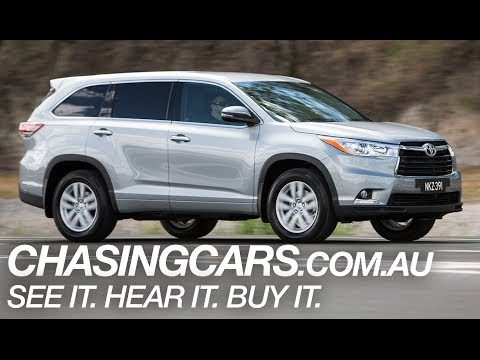 2014 Toyota Kluger SUV Review ChasingCars.com.au