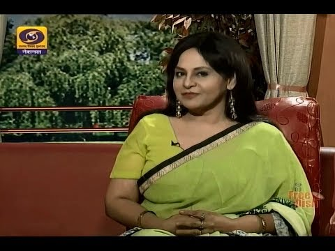 ira trivedi in conversation with dd national anchor nidhi
