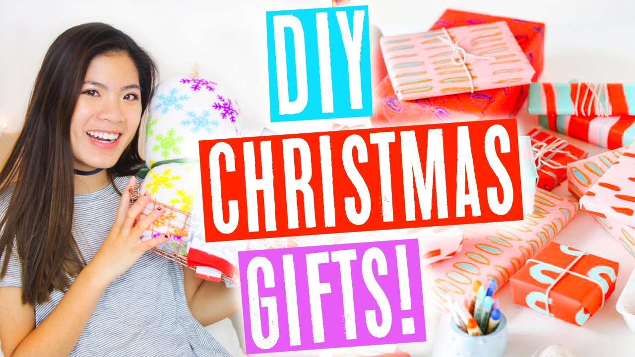Christmas Gifts For Girls.5 Diy Christmas Presents For Friends Family Teen Girls Cute Easy Affordable Ariel Alena