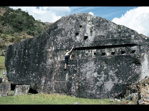 Amazing Yurak Rumi Vilcabamba Archaeological site