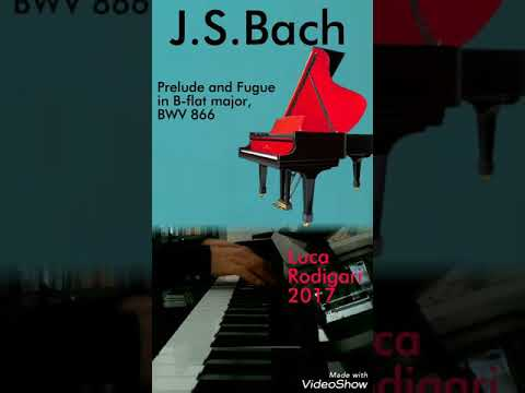 J.S.BACH Prelude and Fugue in B-flat major, BWV 866